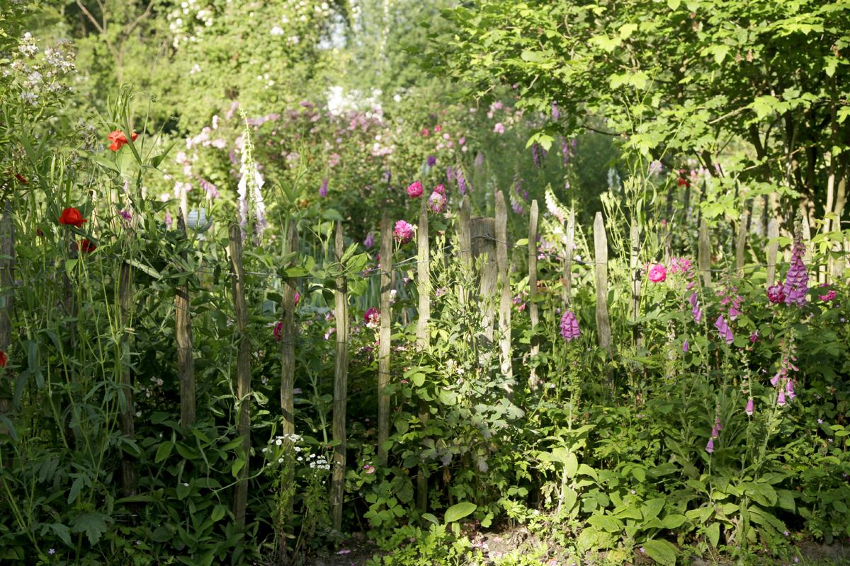 gartengestaltung mit staketenzaun der zaun in der gartengestaltung – gartenplanung und